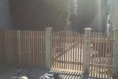 Cedar Picket Fences