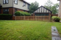 #7 Cedar Flatboard Picket Fence