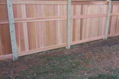 Cedar Fencing View 1