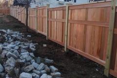 Cedar Fencing View 2