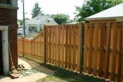 #13 Cedar Board on Board Fence