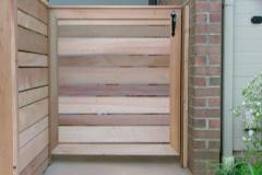 #11 Cedar Horizontal Board Fence