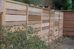 #10 Cedar Horizontal Board Fence