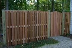 #12 Cedar Board on Board Fence