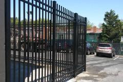#3 Custom Commercial Aluminum Security Fence