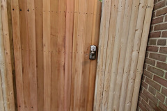 Combination Security Gate Lock and Fence