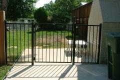 #5 Decorative Metal Fence Non Smooth Top