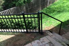 #7 Jerith 3 Rail Aluminum Fence