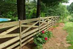 #1 Pressure Treated Pine Estate Fence