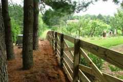 #2 Pressure Treated Estate Fence