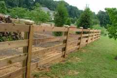 #5 Cedar Paddock Fence