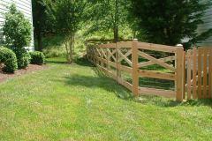 #7 Cedar Estate Fence
