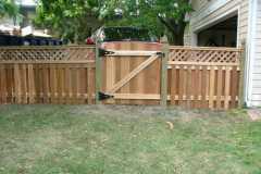 #5 Cedar Solid Board Gate