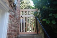 #23 2x2 Cedar Gate with Ring Latch