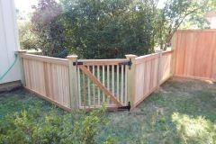 #24 2x2 Cedar Gate