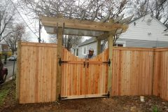 #22 Arbor and Gate 4 Post