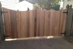 #27 Cedar 1x6 Double Drive Gate with Dip Cut