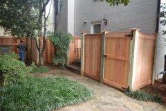 #25 Cedar Flat top Gate 1x6 Boards