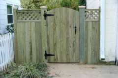 #19 Pressure Treated Pine Flat Board Gate