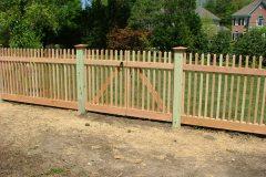 #15 Cedar 2x2 Picket Double Gate