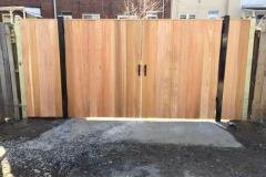 #24 Metal framed double gate