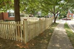 #6 Pressure Treated Pine 1x4 Picket with Dip
