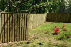 #9 Pressure Treated Pine Board on Board Fence