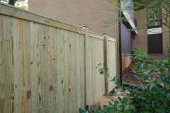#14 Pine Solid Board Fence