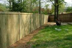 #2 Pressure Treated Pine Flatboard Fence