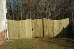 #3 Pressure Treated Pine Fence with Dip
