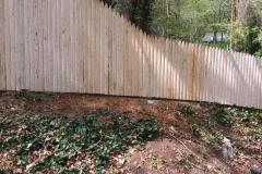 #7 Custom Stockade Fence