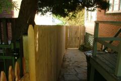 #3 Stockade Fence