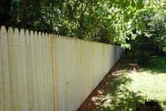 #4 Stockade Fence