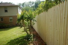 #6 Stockade Fence Side View
