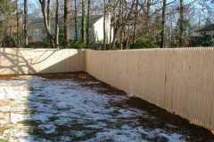 #1 Stockade Fence