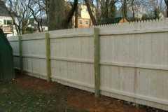 #2 Stockade Fence